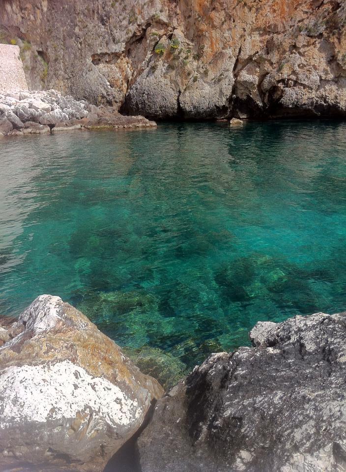 mare di Porto Miggiano distante pochi km. da Poggiardo (Lecce)