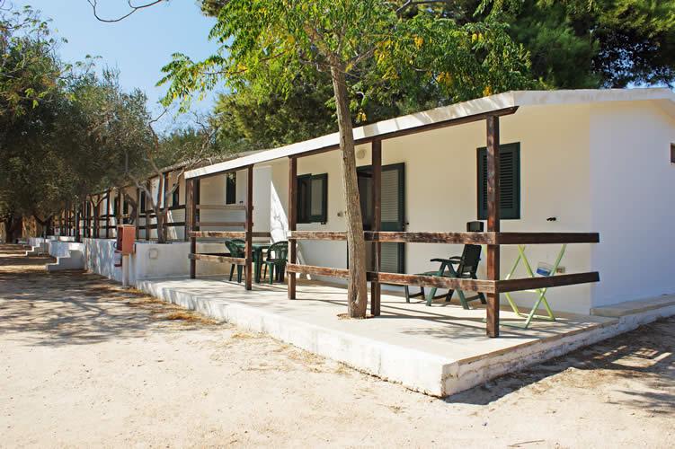 Bungalow Camping Porto Miggiano - Puglia