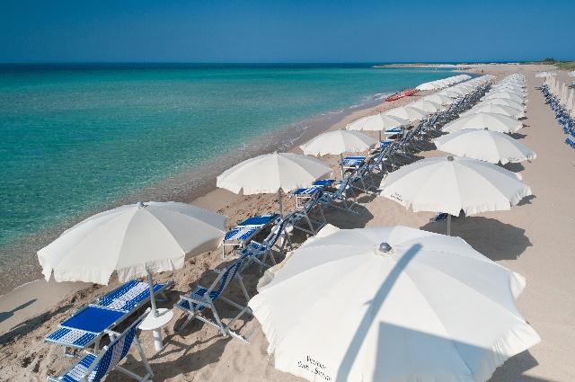 Spiaggia Villaggio Costa del Salento Lido Marini, Ugento