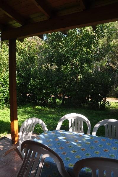 Veranda Attrezzata Bungalow Agriturismo Alimini Otranto