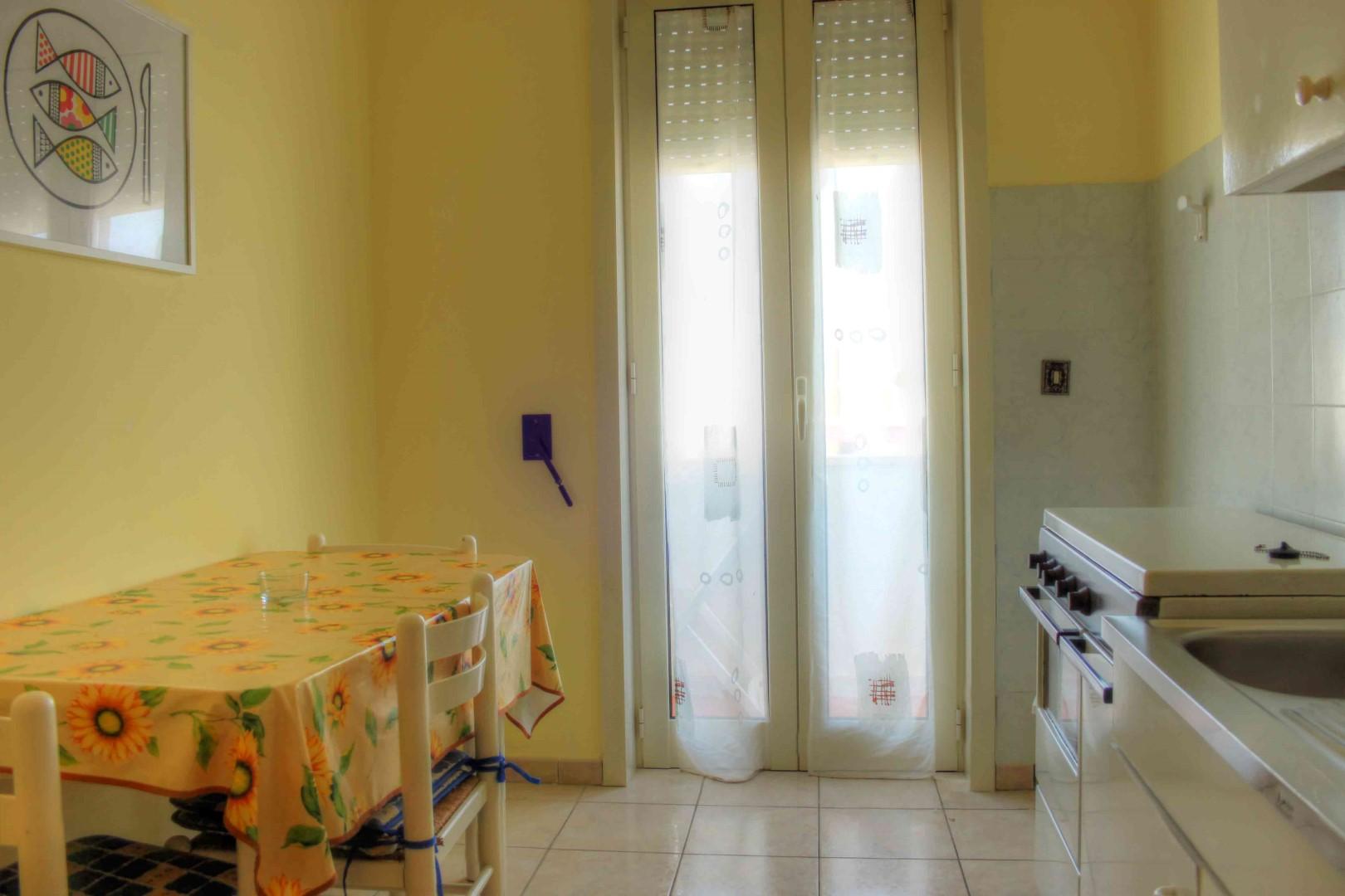 Soggiorno cucina appartamenti San Foca Centro