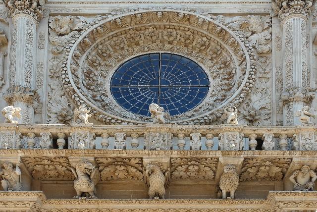 Rosone Santa Croce a Lecce