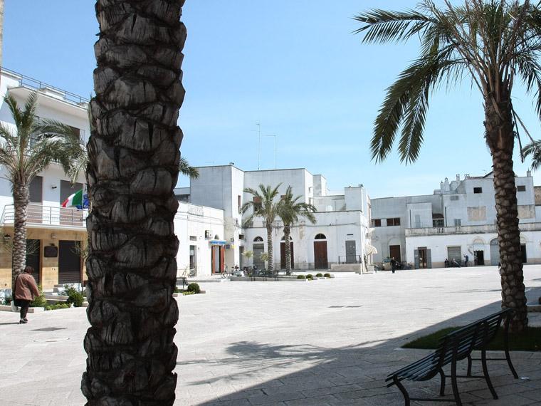Piazza Libertà Campi Salentina