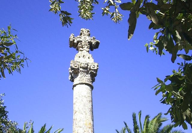 Croce Osanna (sec. XVII) a Cannole