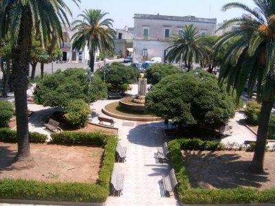 Villa comunale a Collepasso