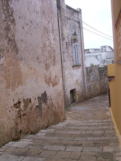 Centro storico a Gagliano del Capo