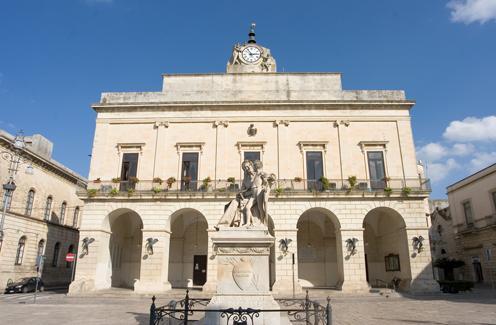 Piazza Aldo Moro Maglie
