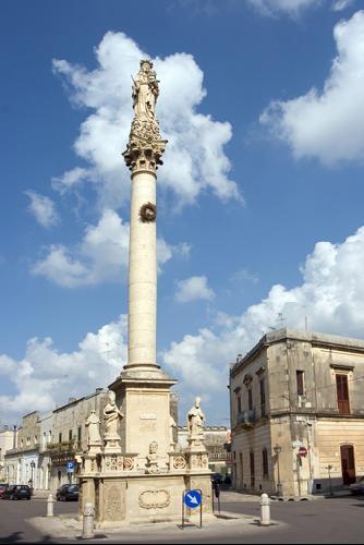 Colonna Madonna delle Grazie a Maglie