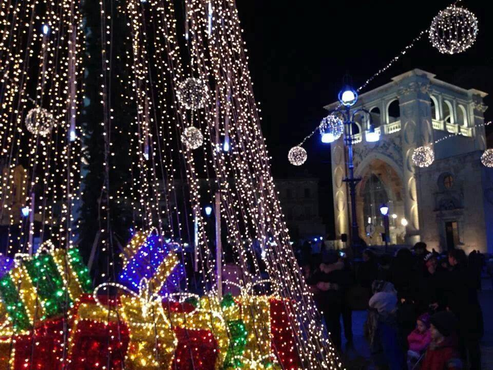 Natale in PiazzaSant'Oronzo a Lecce