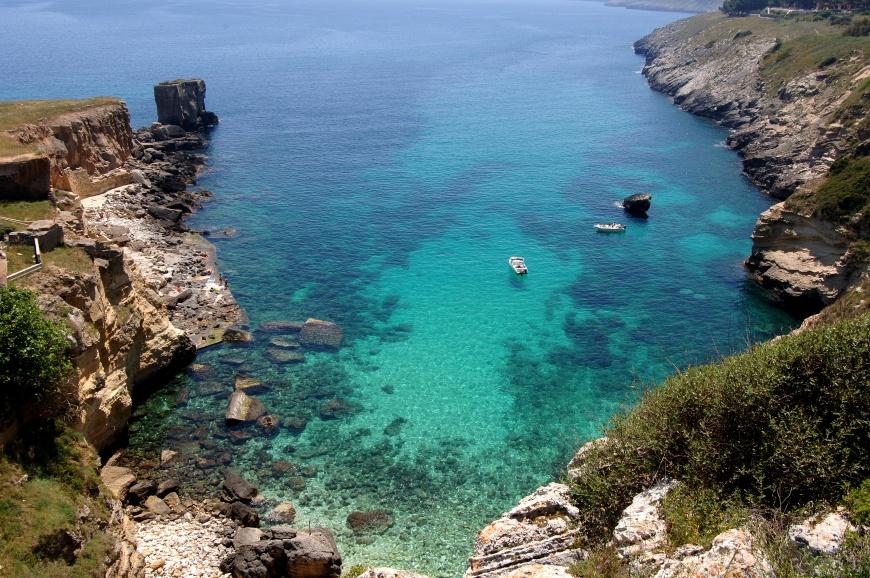 Vacanze a santa cesarea terme salento offerte santa - Bagno marino archi santa cesarea ...