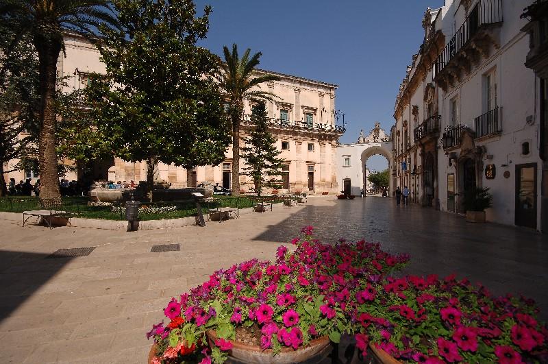 Panoramica di Martina Franca, Taranto