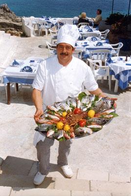 specialita ristorante Lo Scalo Marina di Novaglie, Lecce