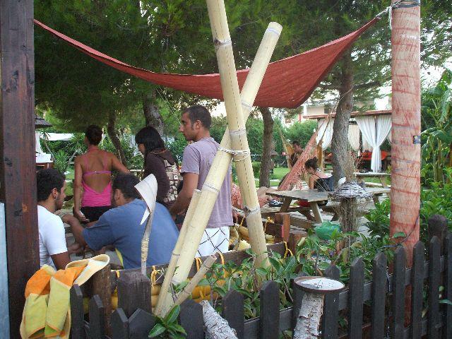 Particolare del Giardino Lounge Bar Era Ora Torre dell'Orso, Lecce