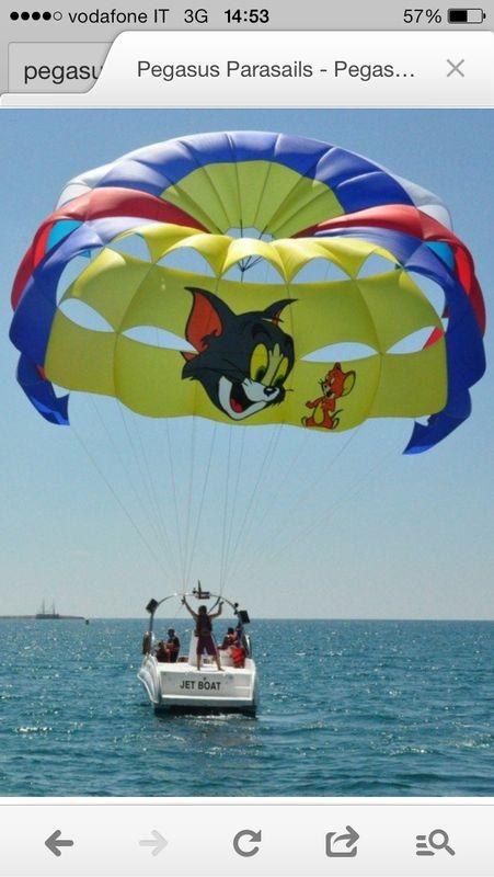 Parasailing Salento Holiday Beach Otranto