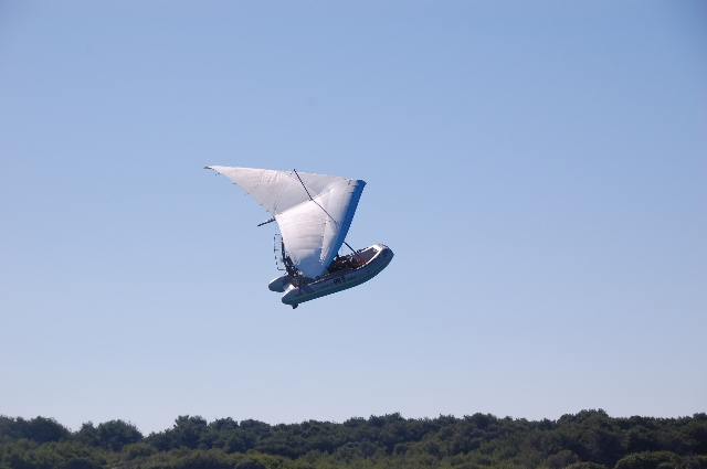Gommone volante