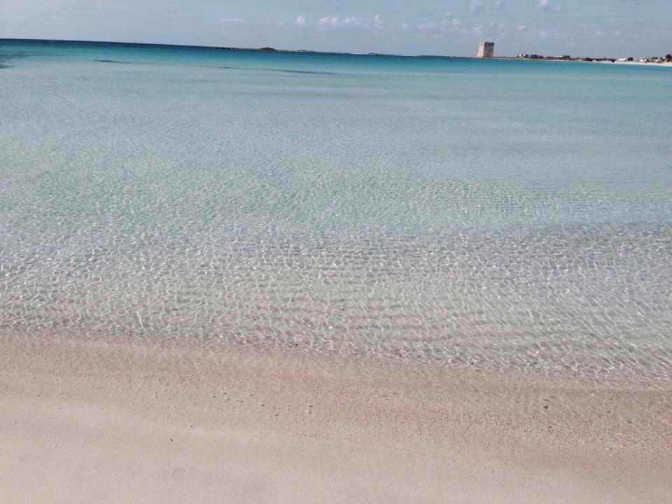Mare del Salento: Teranga Bay beach Punta Prosciutto