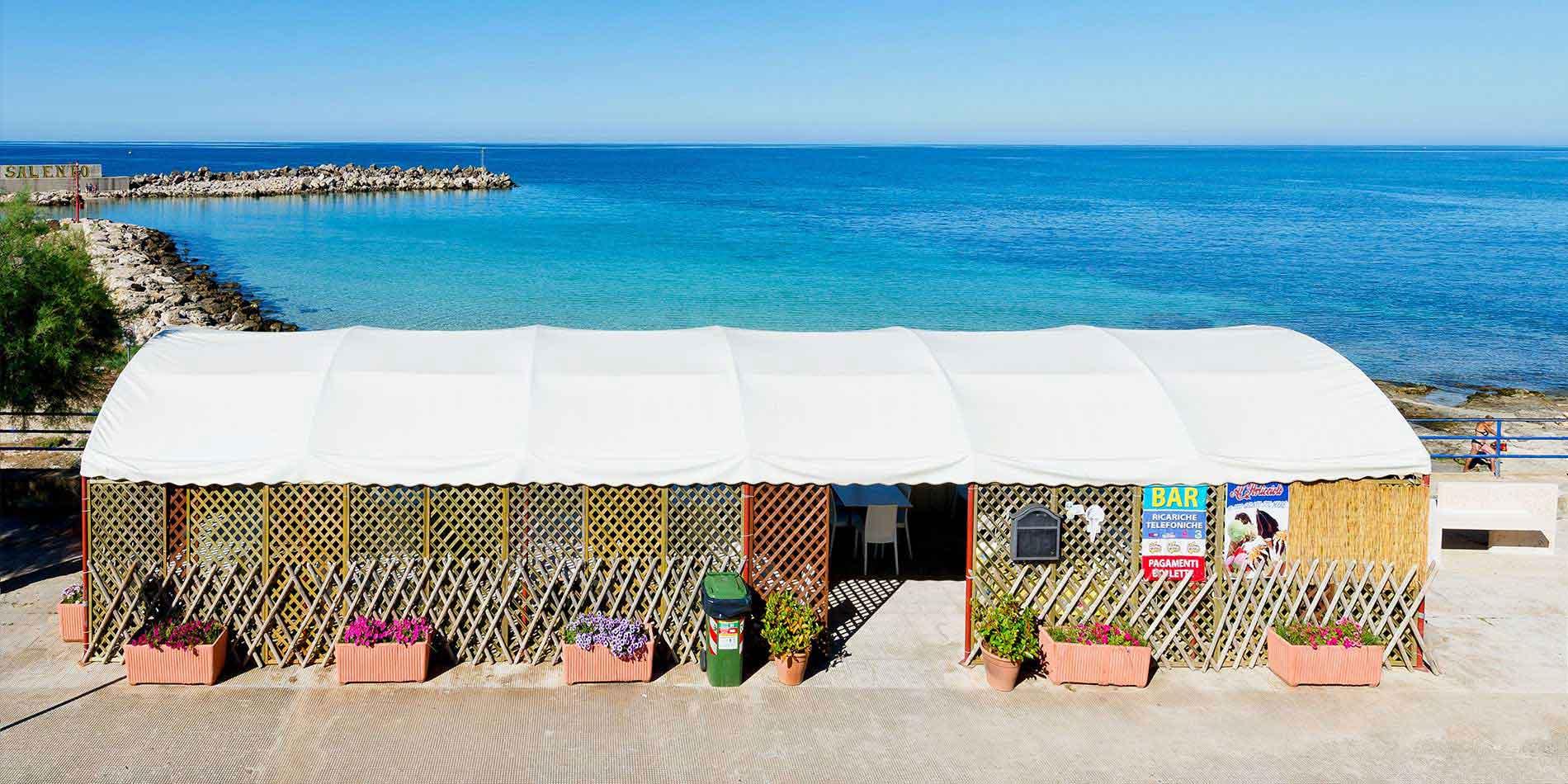 ristorante sul mare a Torre Vado (Salento - Puglia)