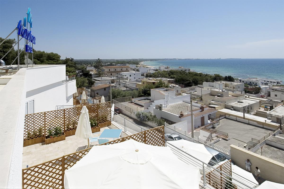 Vista panoramica dall'hotel