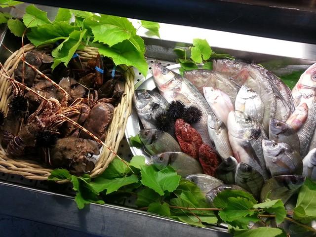 buona cucina di pesce al lido Atlantis di Otranto