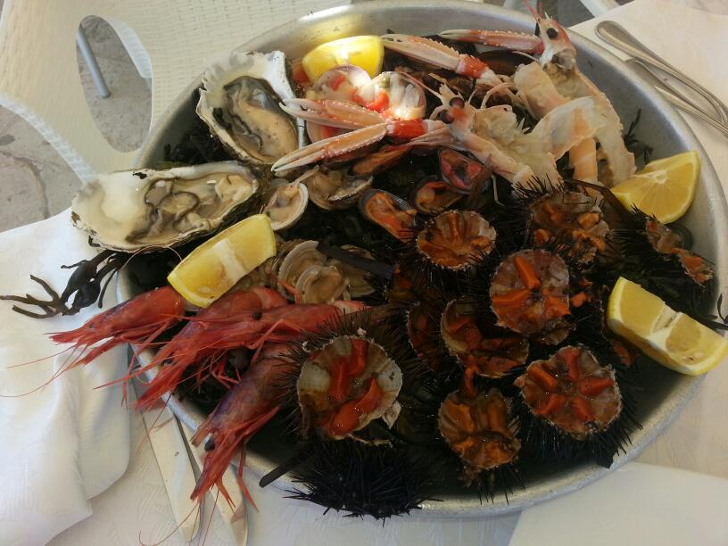 cucina tipica salentina al lido Atlantis a Otranto