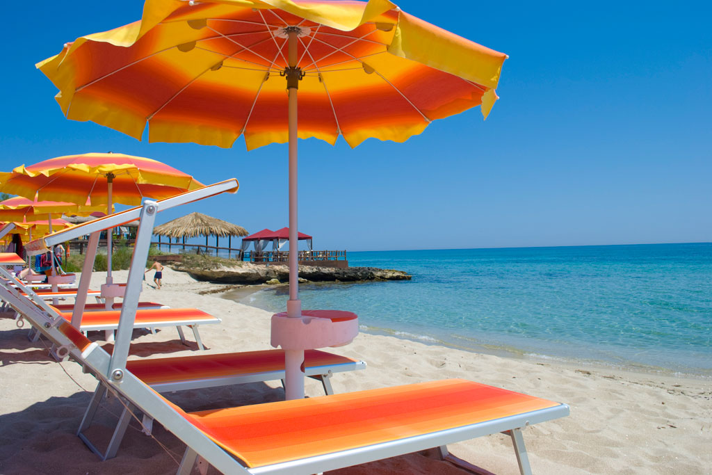 spiaggia del Puntarenas litoranea adriatica Salento