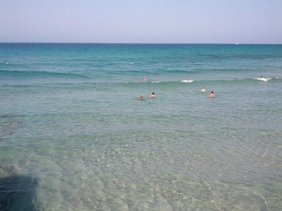 mare di Frassanito sulla costa di Otranto