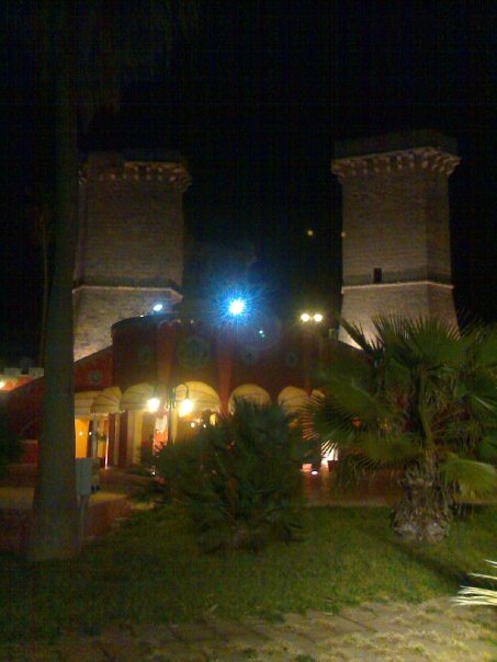 Quattro colonne Santa Maria al Bagno, Nardò