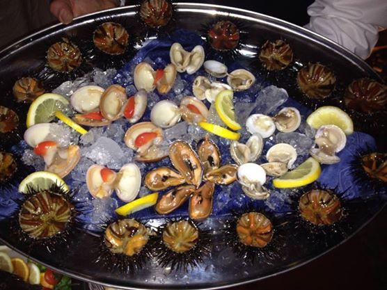 ottima cucina di pesce al Caffè Borghese a Poggiardo (Puglia)